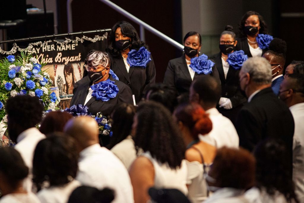 US-police-RACISM-BRYANT-FUNERAL