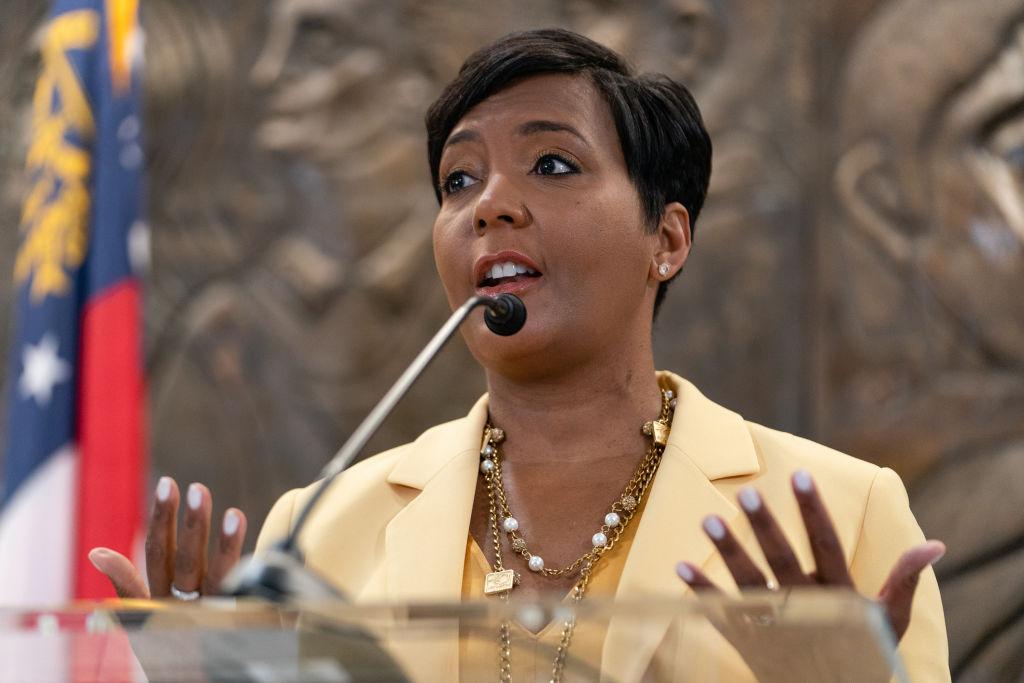 Atlanta Mayor Keisha Lance Bottoms Holds News Conference Announcing She Won't Seek Reelection