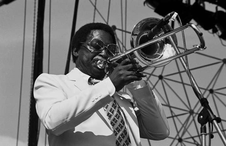Curtis Fuller At The Capital Jazz Festival