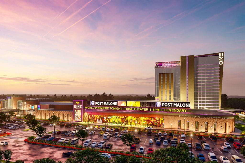 ONE Casino in Richmond, Virginia composite photo