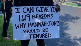 UNC Chapel Hill Nikole Hannah-Jones Protests