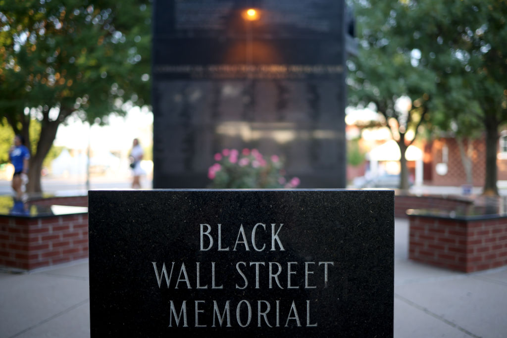 Monument Marks Tulsa Race Riot Of 1921