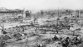 Ruins of Greenwood District after Race Riots, Tulsa, Oklahoma, USA, American National Red Cross Photograph Collection, June 1921