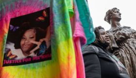 Black Lives Matter paraphernalia features MaKhia Bryant...