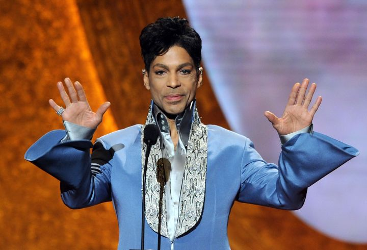 Prince formed his first band when he was 13 years old.