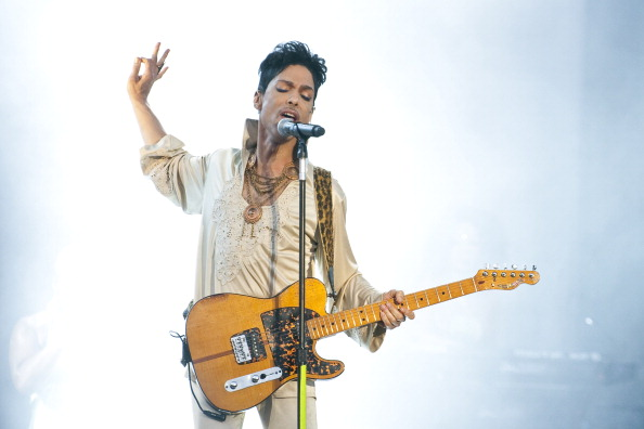 In 1984, Prince not only had the number one movie in the country, but also the number one single & album.