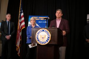 West Virginia Sen. Manchin And Energy Secretary Granholm Visit Energy Sector Companies In The State