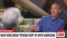 Barack Obama interviewed by Anderson Cooper on CNN