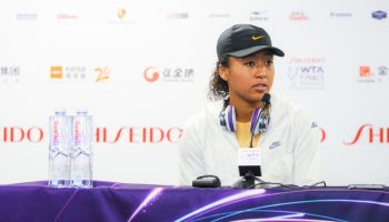 2019 WTA Finals - Press Conference And Training Session