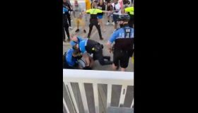 Violent arrest after vaping violation
