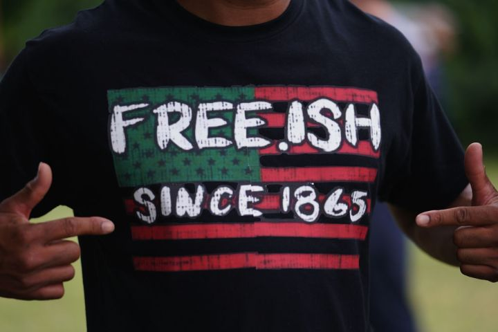 Juneteenth Marked With Celebrations And Marches In Cities Across America