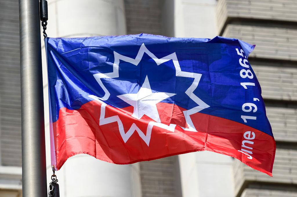 Juneteenth Flag Raising Ceremony at Reading Pennsylvania City Hall
