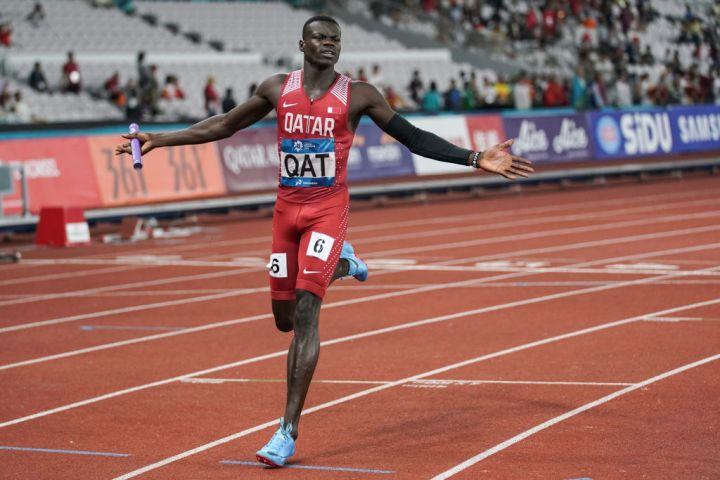 Abdalelah Haroun, track and field star, 24