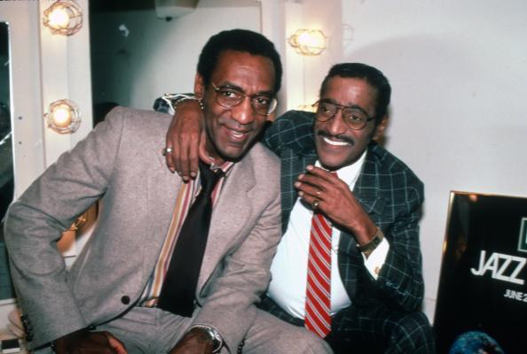 Bill Cosby and Sammy Davis Jr.