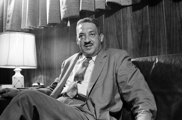 Thurgood Marshall Portrait