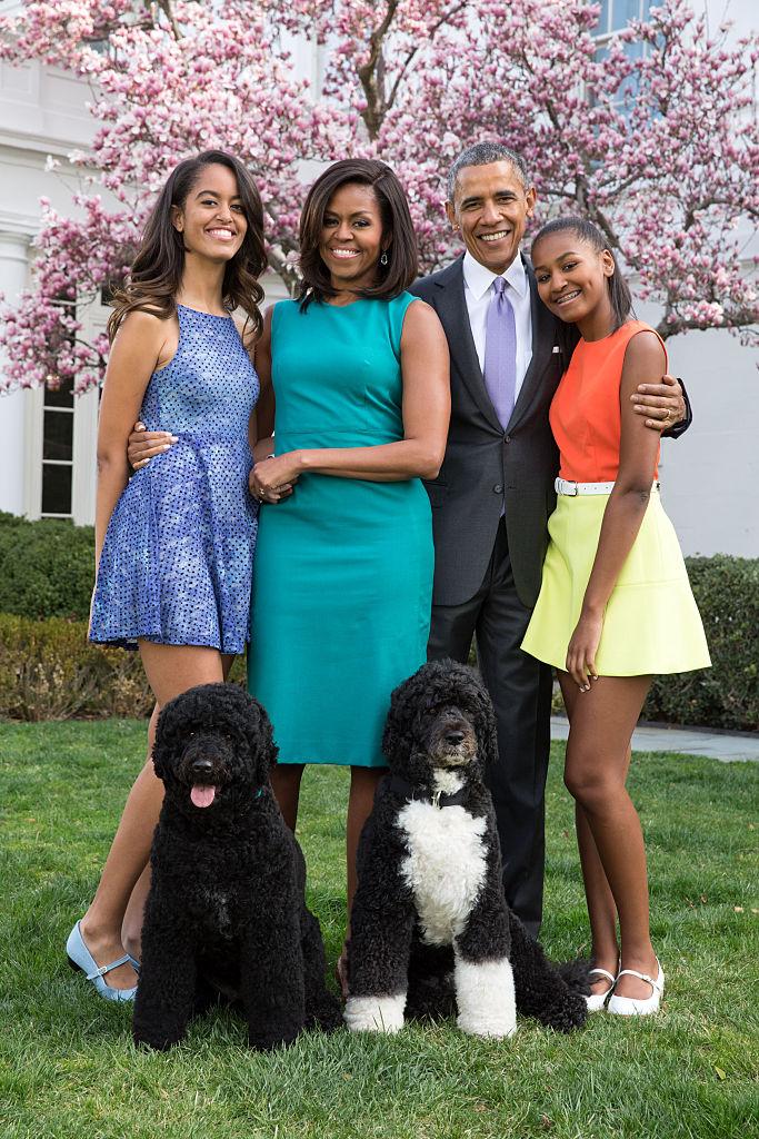 Obama Family, Easter, 2015