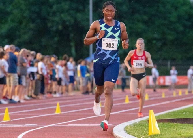 Athletics: Caster Semenya...
