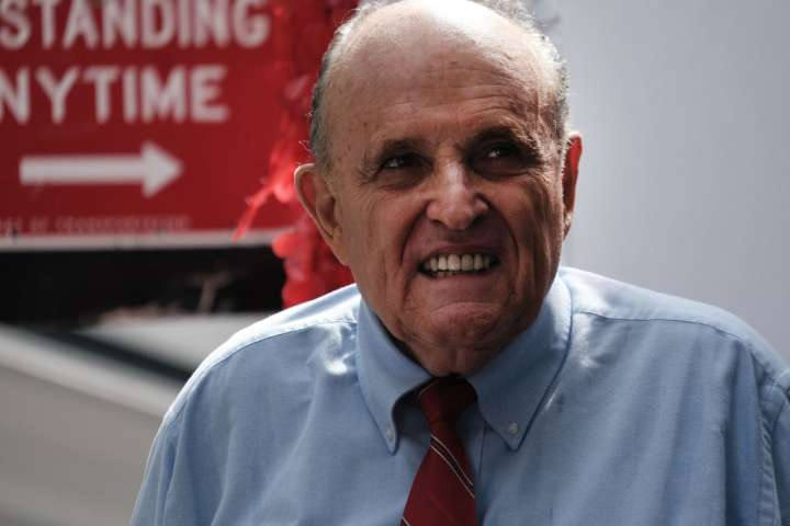 Rudy Giuliani Endorses GOP NYC Mayoral Candidate Curtis Sliwa