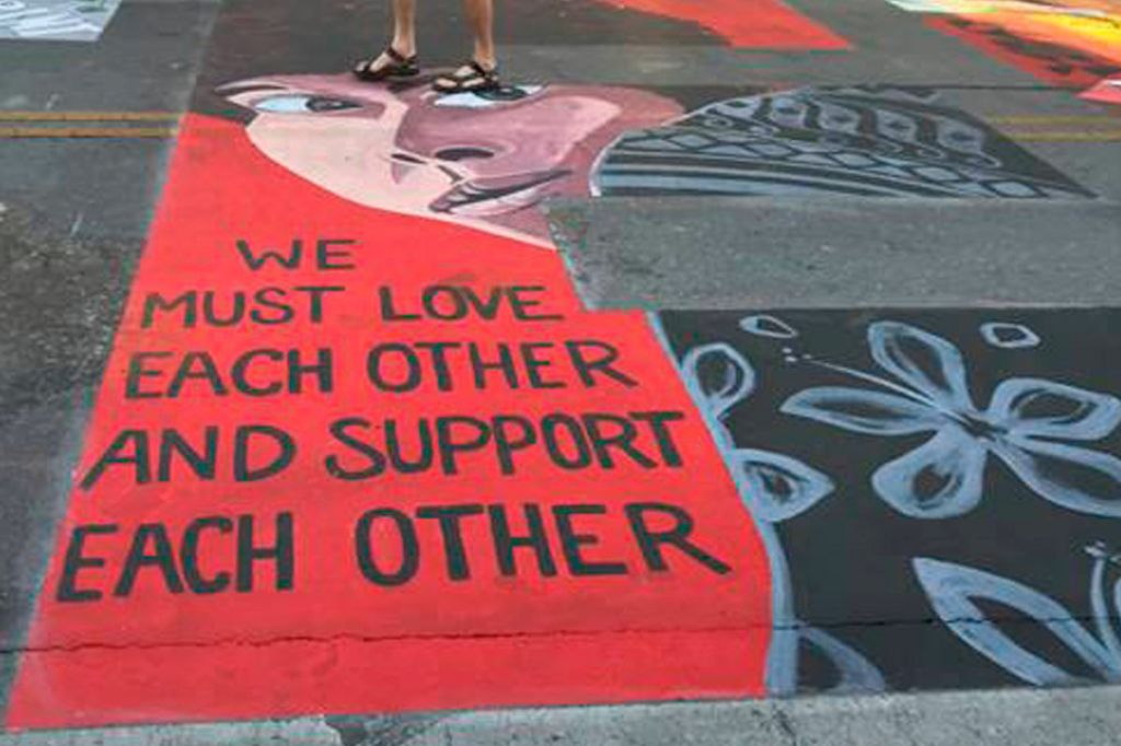 Palo Alto Officers Sue City Claiming Racial Justice Mural Discriminates Against Them