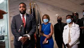 Sen. Tim Scott (R-SC) Meets With Families Of Victims Of Violence And Police Brutality On Capitol Hill