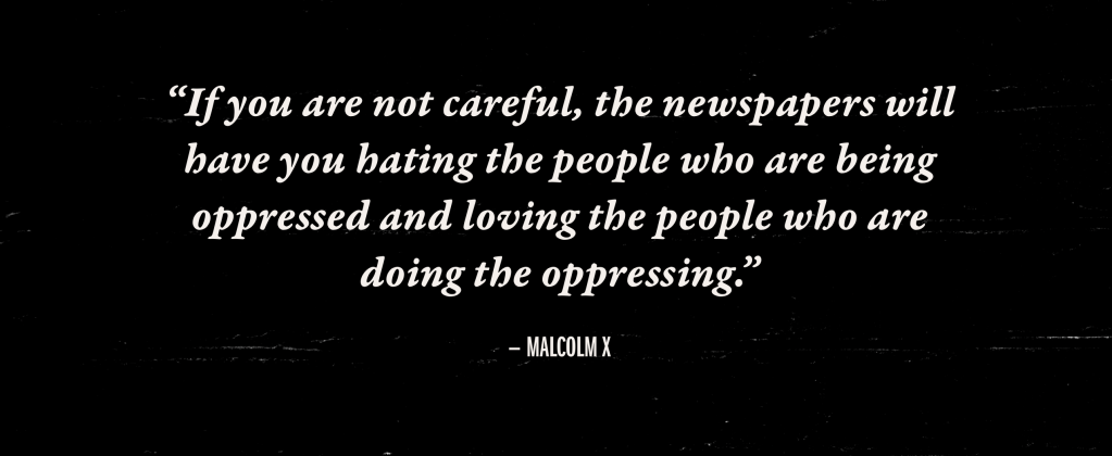 Malcolm X Speaks On The Press