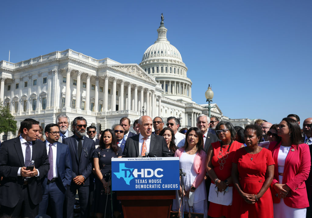 Texas House Democrats Speak On Their Decision To Break Quorum At State Capitol And Come To DC