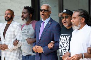 Black Voters Matter Protest
