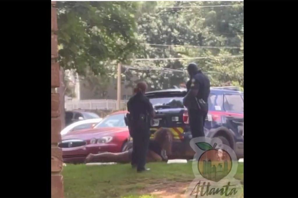 Atlanta police brutality video