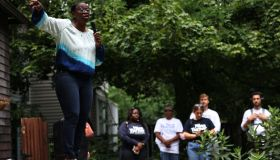 Nina Turner Campaigns Ahead Of Special Democratic Primary In Ohio's 11th Congressional District