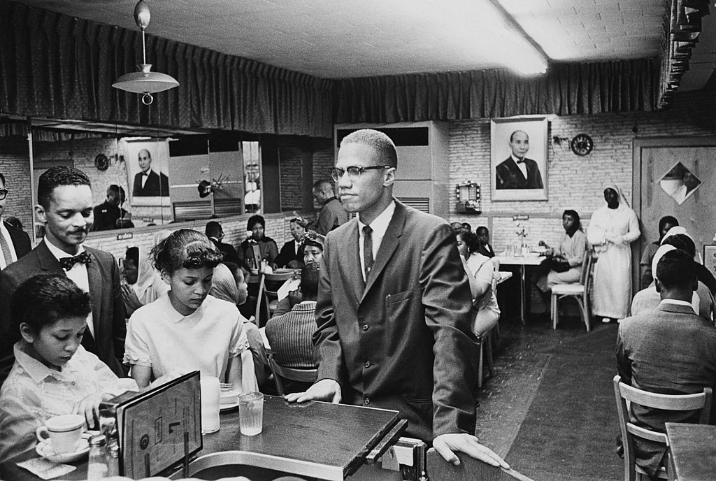 Malcolm X At Temple 7