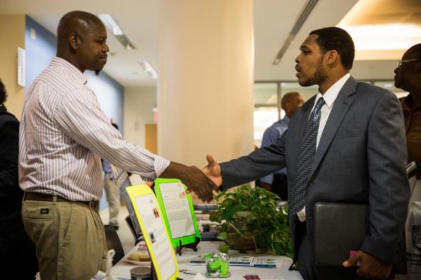 Job Fair Held At Bronx Public Libary