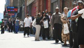 Black unemployment - Job Fair Held In New York City