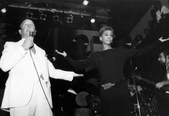 Clive Davis Introduces Whitney Houston In NY