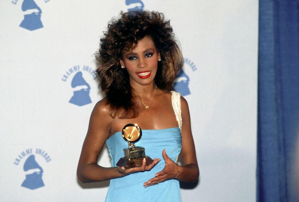 Whitney Houston Wins A Grammy