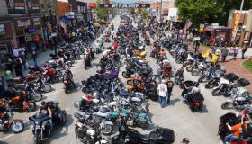 Thousands Gather For Annual Sturgis Motorcycle Rally Amid COVID-19 Pandemic