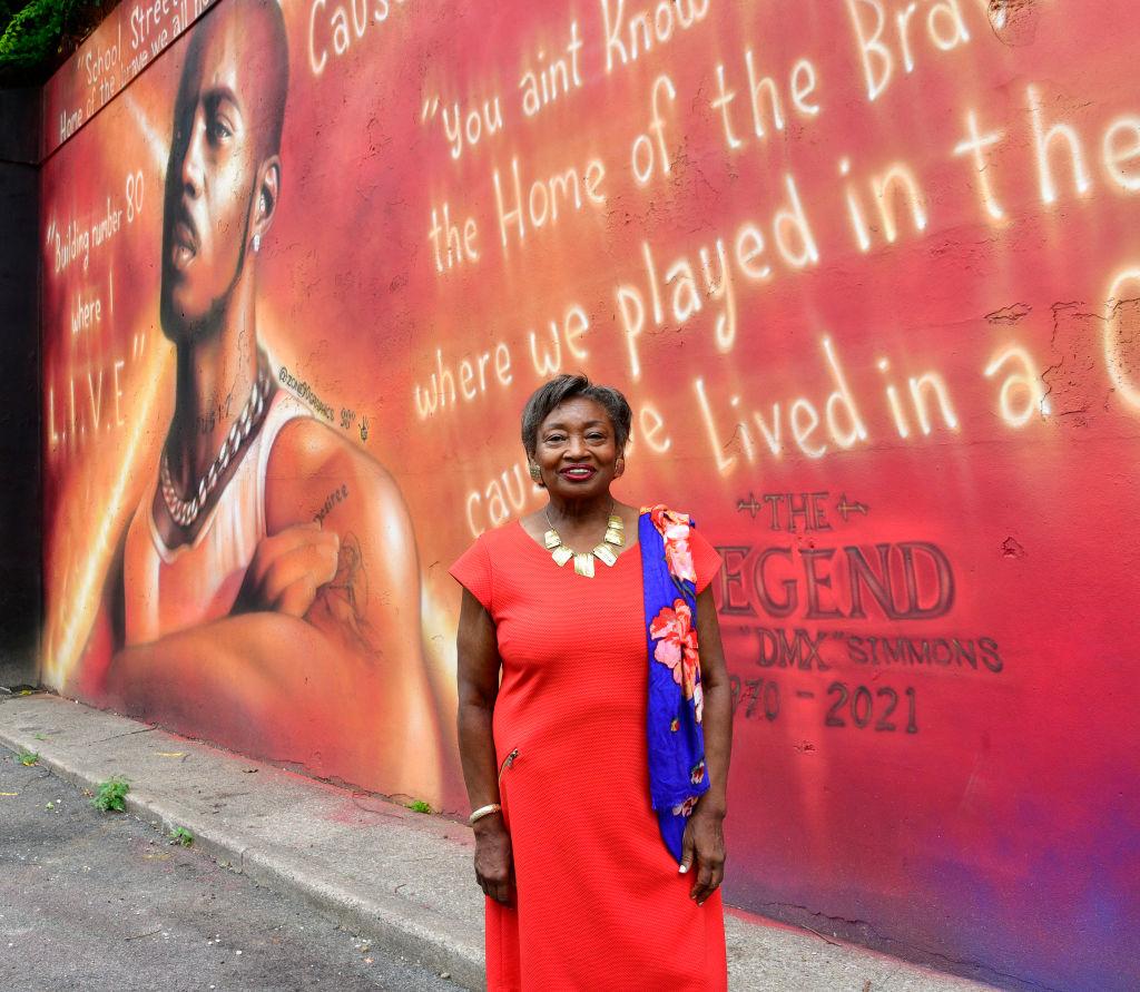Andrea Stewart-Cousins, la líder de la mayoría del Senado estatal y próxima vicegobernadora del estado de Nueva York. Foto: Eugene Gologursky / Getty
