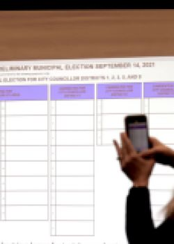 Ballot Positions Drawn for Bostons Municipal Preliminary Election
