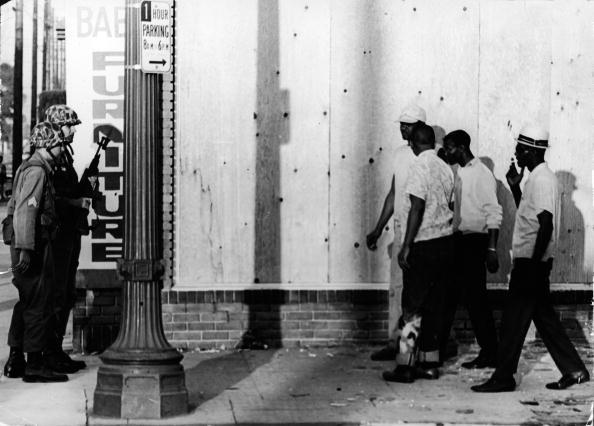 Watts Race Riots In Los Angeles