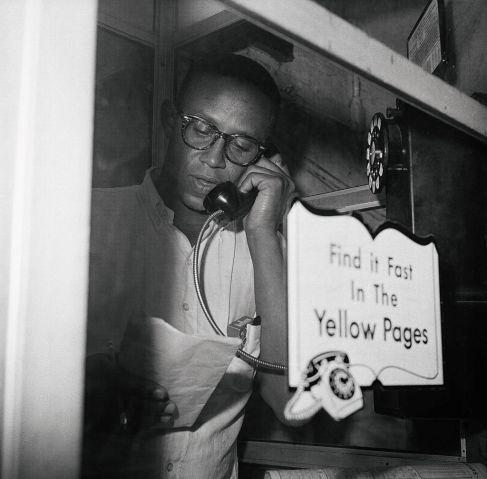 Warren Wilson On the Phone