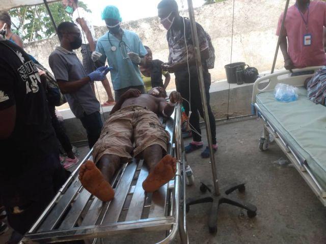 Powerful 7.2 magnitude earthquake jolts Haiti