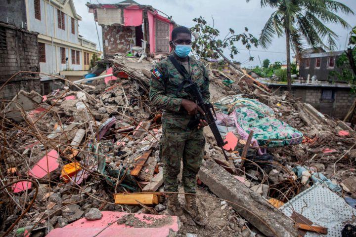 Tropical Storm Grace Hits Haiti After 7.2 Quake