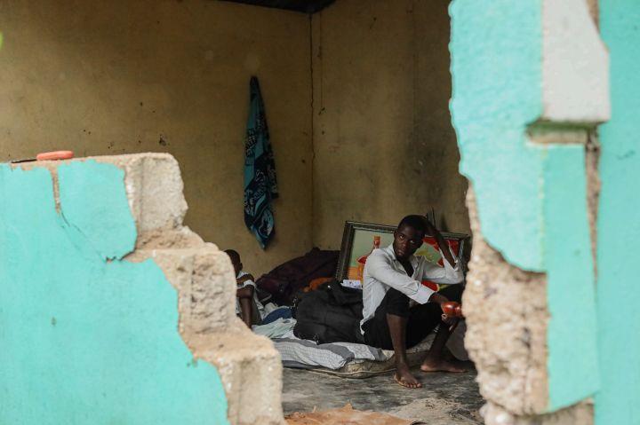 Tropical Storm Drenches Earthquake-stricken Haiti