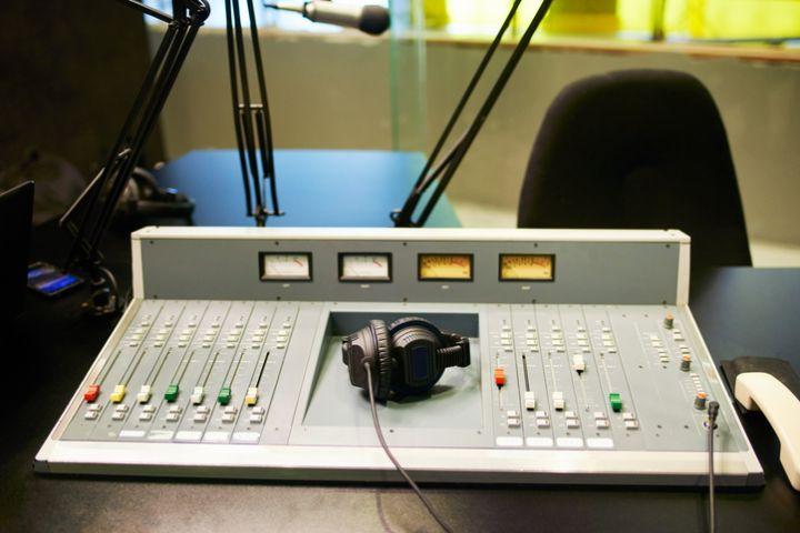 Shot Of Equipment In A Recording Studio