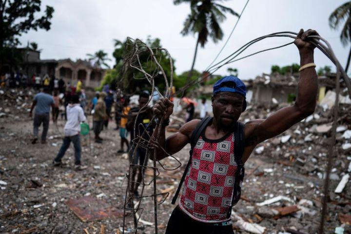 HAITI-LES CAYES-EARTHQUAKE-DEATH TOLL