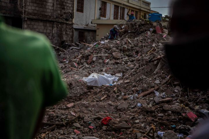 Rescue Work And Humanitarian Aid Continue In Haiti After 7.2 Quake And Tropical Storm
