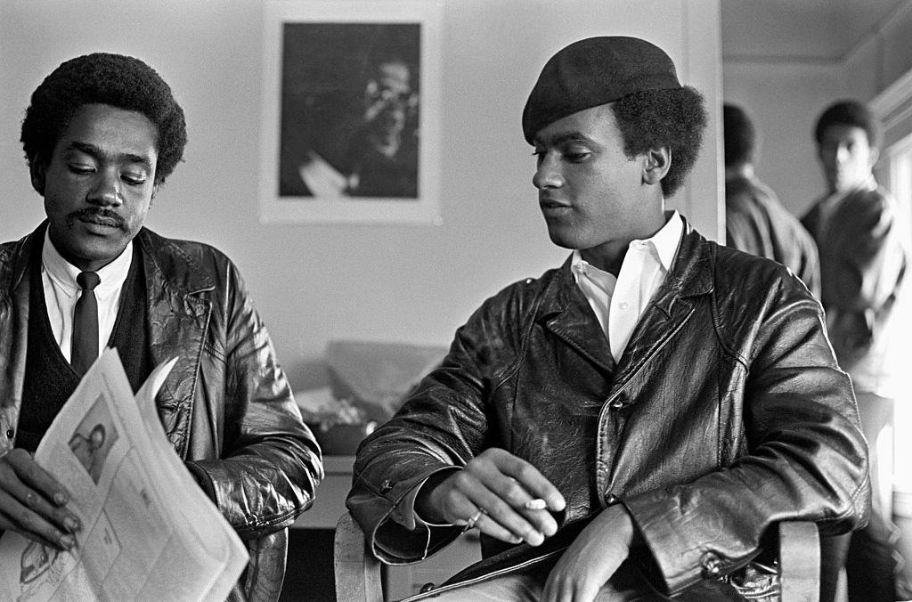 Huey Newton and Bobby Seale