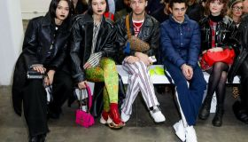 Fashion East - Front Row - LFW February 2020