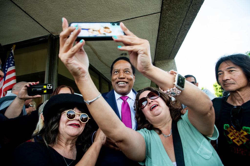 Larry Elder Joins Race For California Governor
