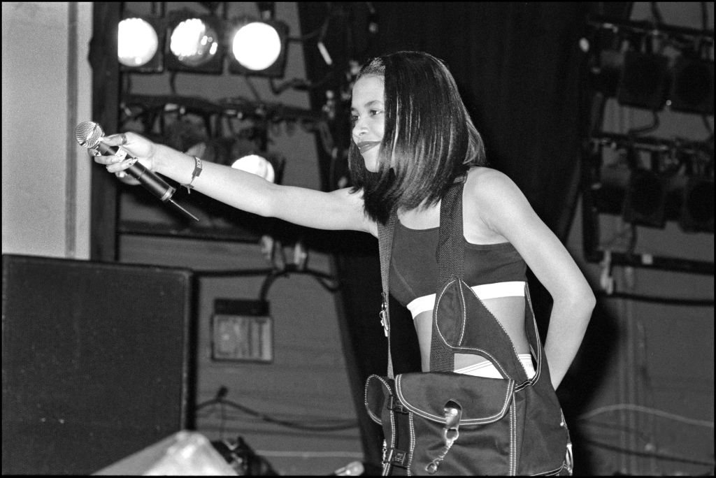 Aaliyah In Performance