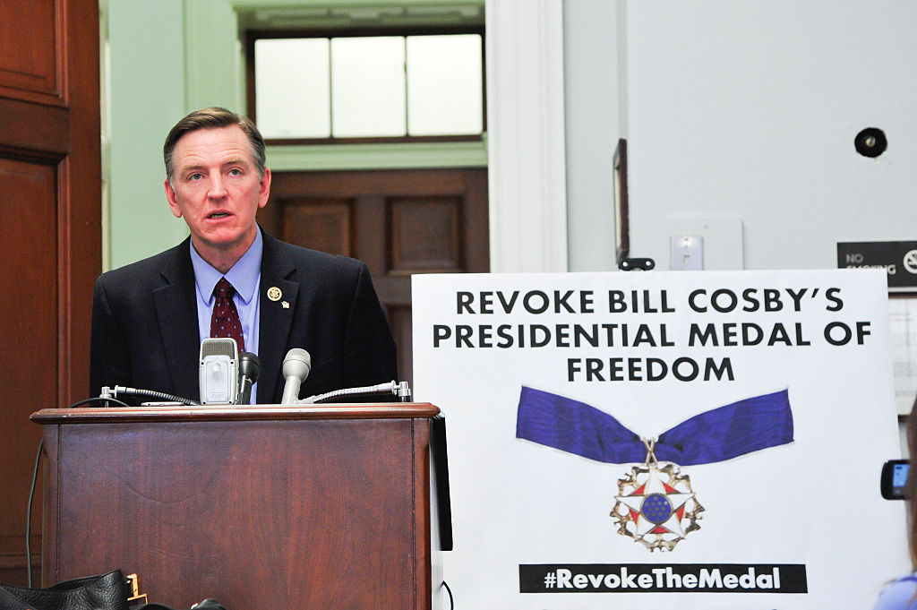 News Conference To Discuss Legislation To Revoke The Medal Of Freedom Given To Bill Cosby
